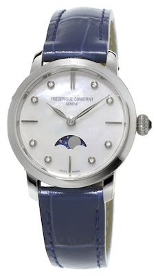 FC Ladies' Slimline Moonphase Watch