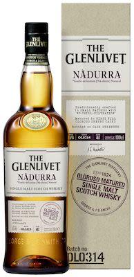 Glenlivet Nadurra Oloroso, 100 cl. - Alc. 48% Vol. In gift box. Speyside.