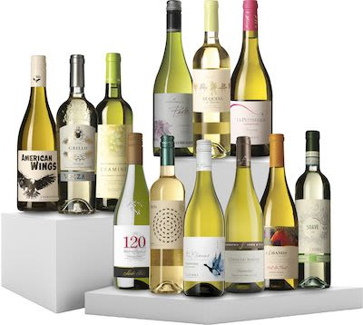 12 Bottles Tasting Box White Wine 12x75 cl.