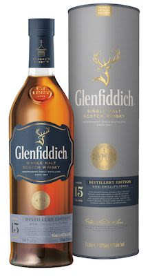 Glenfiddich 15 YO Distillery Edition, 100 cl. - Alc. 51% Vol. In gift box. Speyside. Travel exclusive