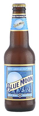 Blue Moon 24x33 cl. blts. - Alc. 5.40% Vol.