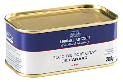 Artzner Duck Liver Block Trapezshaped Tin 200 g