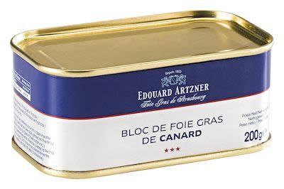 Artzner Duck Liver Block Trapezshaped Tin 200 g