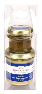 Artzner Duck Liver Block 120 g + Fig Confit in gift box 50 g