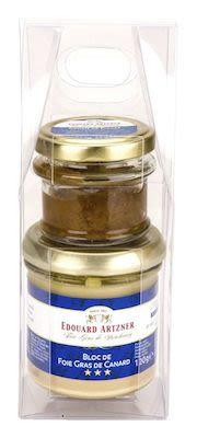 Artzner Gift Box: Duck Liver Block 120 g + Fig Confit 50 g