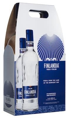 Finlandia Twinpack 2x100 cl. - Alc. 40% Vol. In gift box.