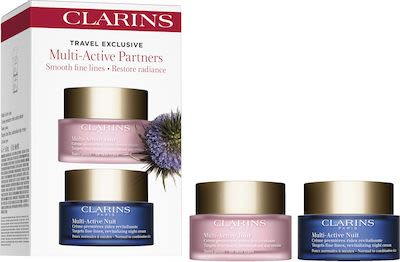 Clarins Multi Active Partners Travel Set Day & Night 2x50 ml