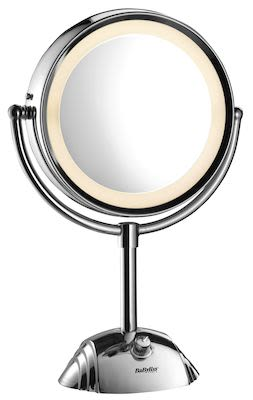 BaByliss Double-Sided Round Mirror with Light