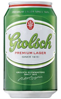 Grolsch Beer 24x33 cl. cans. - Alc. 5.00% Vol.