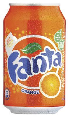 Fanta 24x33 cl. cans.