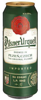 Pilsner Urquell 24x50 cl. cans. - Alc. 4.4% Vol.