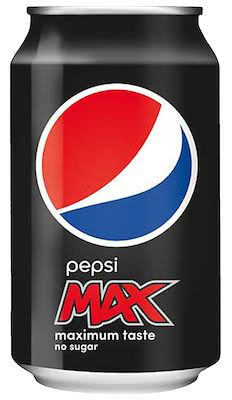 Pepsi Max 24x33 cl. cans.