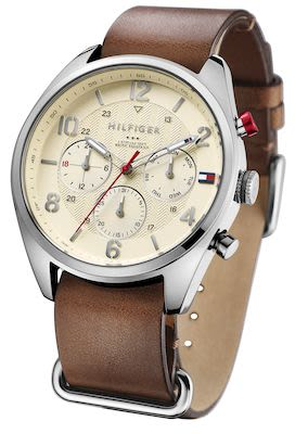 Tommy Hilfiger Gent's Brown Utilitarian Watch