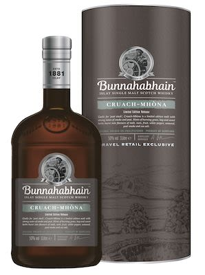 Bunnahabhain Cruach Mhòna, 100 cl. -  Alc. 50% Vol. In gift box. Islay.