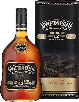 Appleton Rare 12 YO 70 cl. -  Alc. 43% Vol. In gift box.