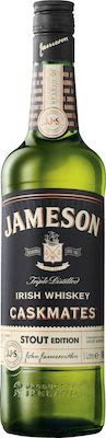 Jameson Caskmates, 100 cl. - Alc. 40% Vol. Irish.