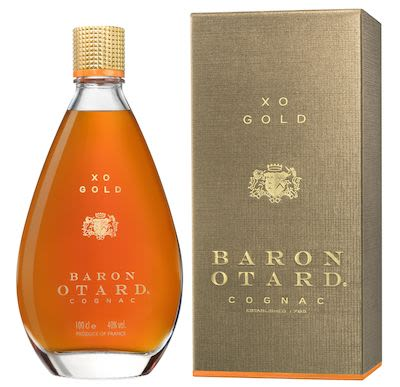 Baron Otard XO Gold 100 cl. - Alc. 40% Vol. In gift box.