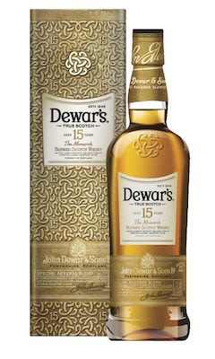 Dewar's 15 YO, 100 cl. - Alc. 40% Vol. In gift box.