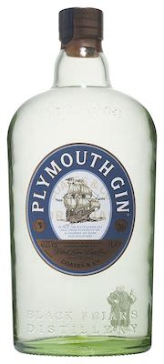 Plymouth Gin 100 cl. - Alc. 41.2% Vol
