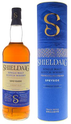 Shieldaig 100 cl. - Alc. 40% Vol. In gift box. Speyside.