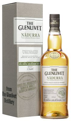 Glenlivet Nadurra First Fill, 100 cl. - Alc. 48% Vol. In gift box. Speyside.