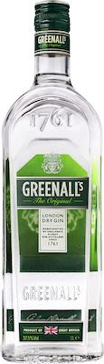 Greenall's Original London Dry Gin 100 cl. - Alc. 40% Vol.