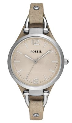 Fossil Ladies' Georgia Bone Watch