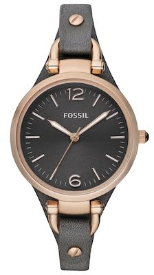 Fossil Ladies' Georgia Smoke Watch