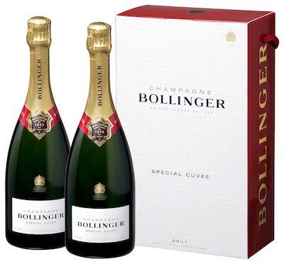 Bollinger Special Cuvée Brut White Twin pack 2x75 cl. - Alc. 12% Vol.