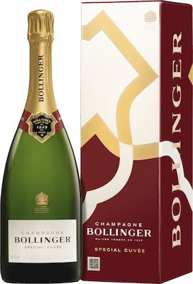 Bollinger Special Cuvée 75 cl. - Alc. 12% Vol. In gift box.