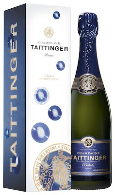 Taittinger Prélude 75 cl. - Alc. 12.5% Vol. In gift box.