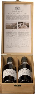 2005 Taylors Estate Collection 2x37.5 cl. - Alc. 20.5% Vol. In gift box.