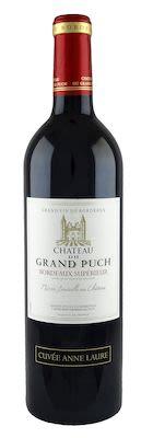 Ch. Grand Puch Cuvee Anne Laure Bordeaux Supérieur 75 cl. - Alc. 13% Vol.