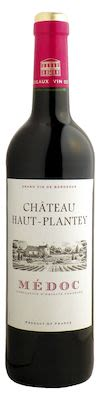 Château Haut Plantey Medoc 75 cl. - Alc. 13% Vol.