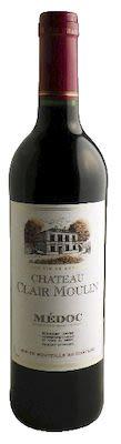 Château Clair Moulin Medoc 75 cl. - Alc. 12,5% Vol.