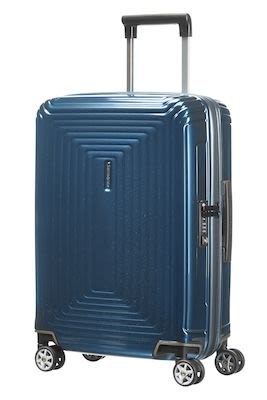 Samsonite Neopulse Spinner 55, metallic blue