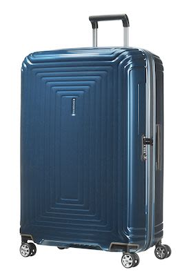 Samsonite Neopulse Spinner 75, metallic blue