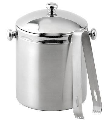 Bastian Ice Bucket Matte Gloss Steel 1 L