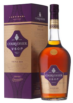 Courvoisier Artisan VSOP Triple Oak 100 cl. - Alc. 40% Vol. In gift box.