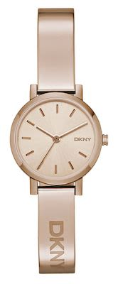 DKNY Ladies' Soho Rose Gold PVD Watch