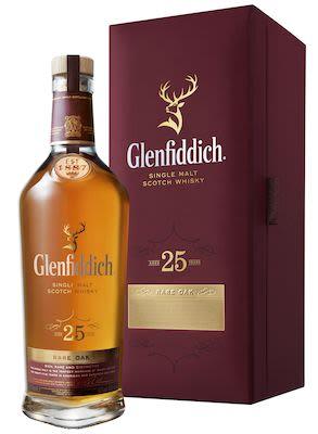 Glenfiddich 25 YO, 70 cl - Alc. 43% Vol. In gift box. Speyside.