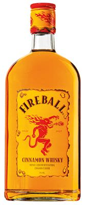 Fireball Cinnamon 50 cl. - Alc. 33% Vol.