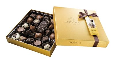 Godiva Gold Rigid Box 290 g