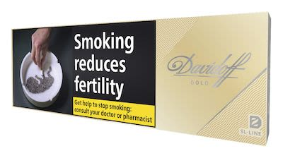 Davidoff Gold Slim 200 pcs