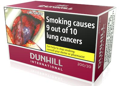 Dunhill International Red 200 pcs