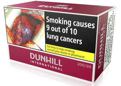 Dunhill International Red 200 pcs
