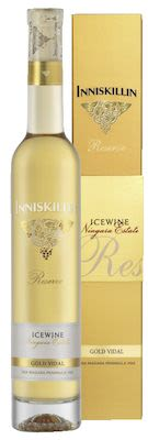 2016 Inniskillin Gold Vidal Icewine 37.5 cl. - Alc. 9.5% Vol. In gift box.