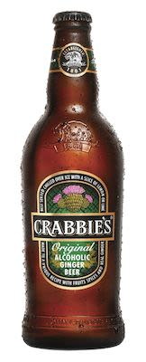 Crabbie's Alcoholic Ginger Beer 12x50 cl. blts. - Alc. 4% Vol.