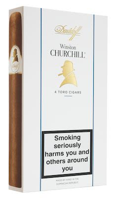 Davidoff Winston Churchill Toro 4 pcs