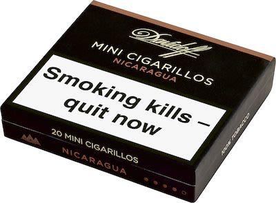 Davidoff Mini Cigarillos Nicaragua. 5x20 pcs.